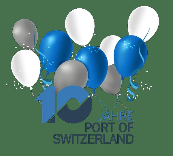 10 Jahre Schweizerische Rheinhäfen