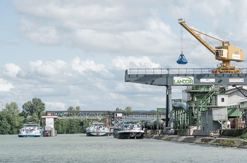 News - Baufortschritt-suedanbindung-Auhafen-Schweizerhalle-schweizerische-rheinhaefen - Port-of-Switzerland.ch