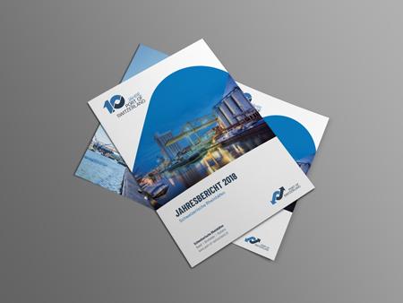 Jahresbericht 2018 - Port of Switzerland - Schweizerische Rheinhäfen