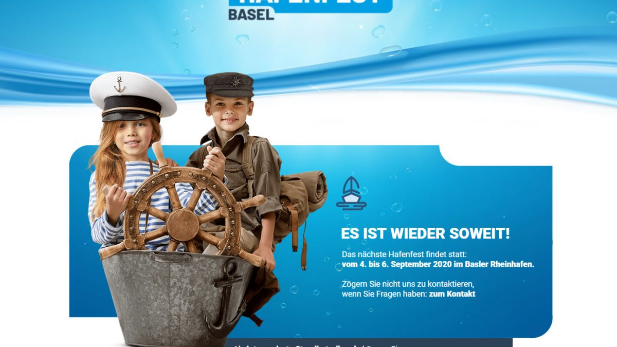 Webseite Hafenfest