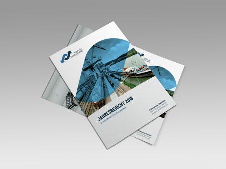 Geschäftsbericht 2019 - Jahresbericht 2019 - Schweizerische Rheinhäfen Basel - Port of Switzerland